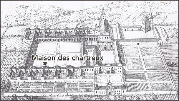 Maison des Chartreux, 1913