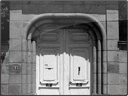 Entrée Maison des Chartreux